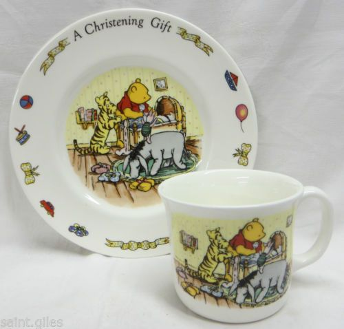 Royal Doulton Winnie The Pooh Collection Christening Set