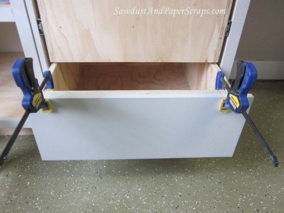 Attaching Cabinet Drawer Fronts Diy Drawers Drawer Fronts Wood Furniture Diy