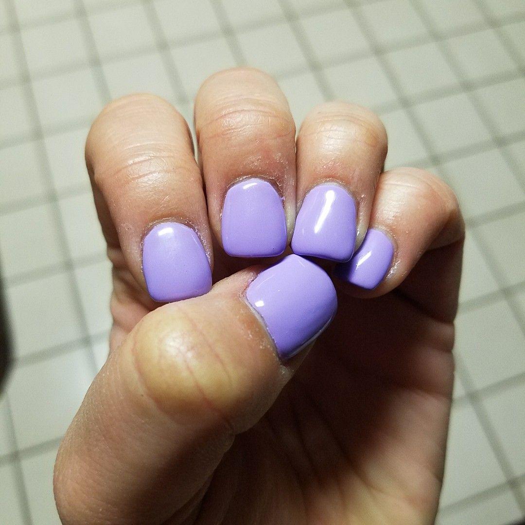 double team dynamicpunch violet purple manicures