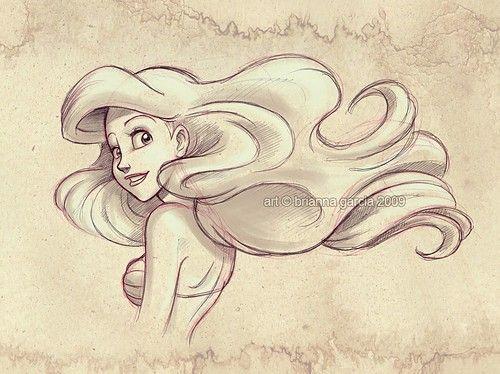 Ariel Drawings Tumblr Drawings tumblr disney ariel