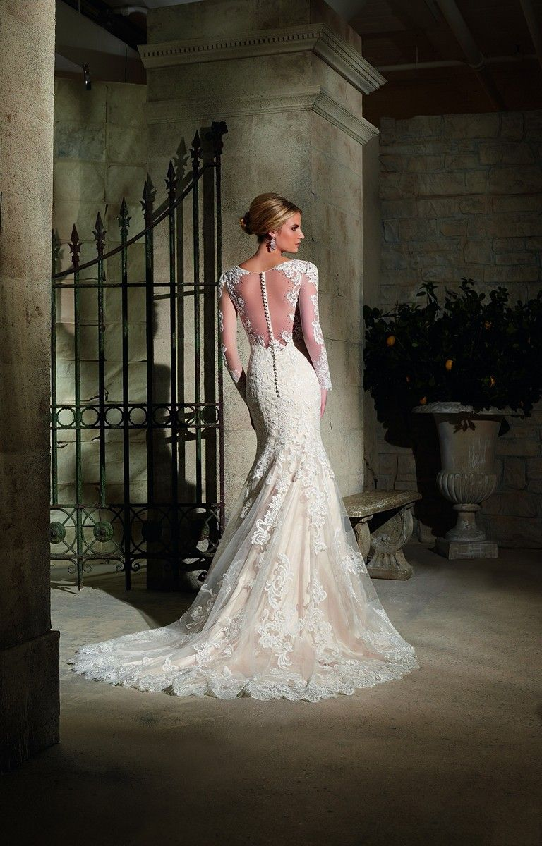 Wedding dress for older bride  Mori Lee  Wedding Dress  Older Bridal Dresses  Pinterest