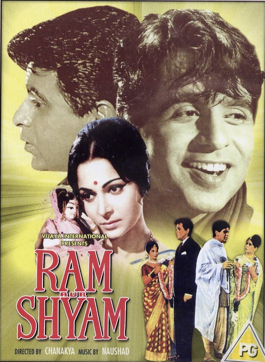 Ram Aur Shyam Is A 1967 Indian Hindi Feature Film Directed By