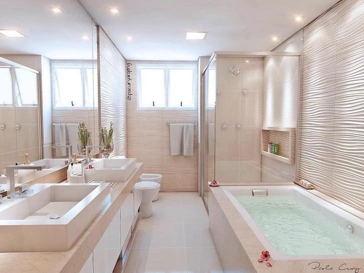 Decoração de banheiro: 100 ideias para deixar o cô