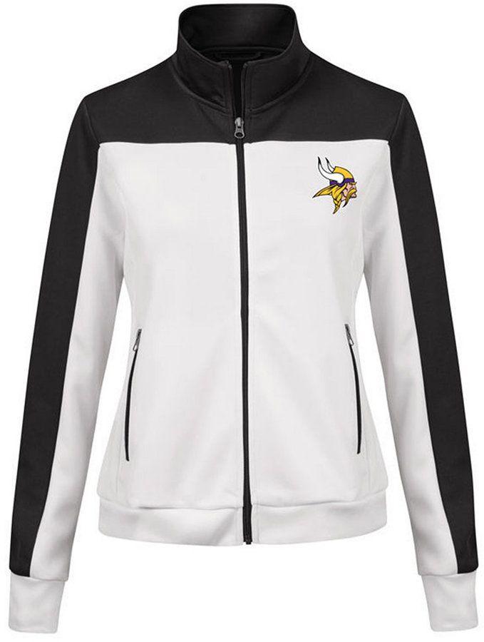 buy online 74779 5d2f9 G-iii Sports Women's Minnesota Vikings Play Maker Rhinestone ...