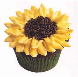 Sunflower Cupcakes | Scrumptious Cupcakes #sunflowercupcakes Sunflower Cupcakes | Scrumptious Cupcakes #sunflowercupcakes
