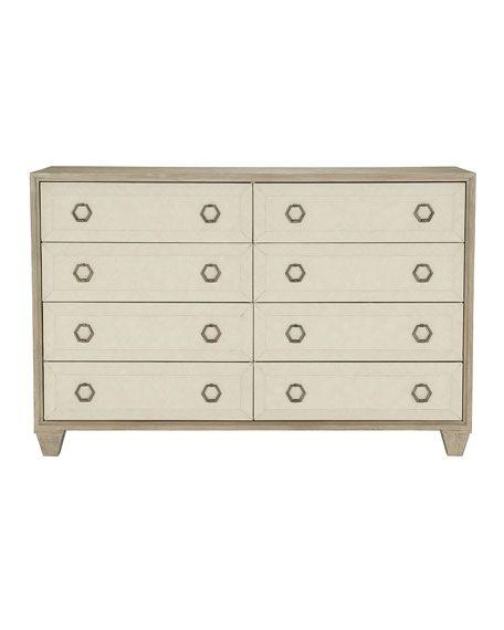 Bernhardt Santa Barbara Fabric Trim 8-Drawer Dresser