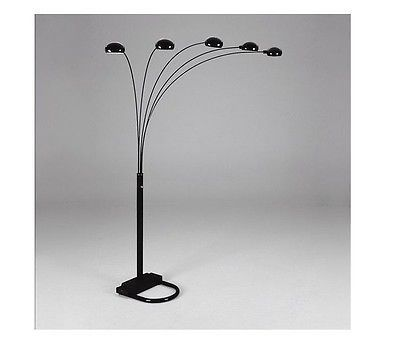 5 Arms Arch Floor Lamp Include 5 Light Bulbs Shades Available In Multi Colors Ebay Arched Floor Lamp Floor Lamp Gold Floor Lamp