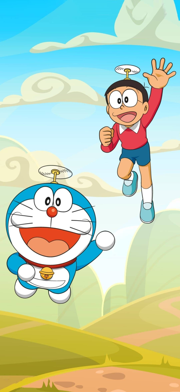 Doraemon And Nobita Hd Wallpaper Free Download 1080p Cartoon Wallpaper Iphone Cartoon Wallpaper Hd Cute Cartoon Wallpapers