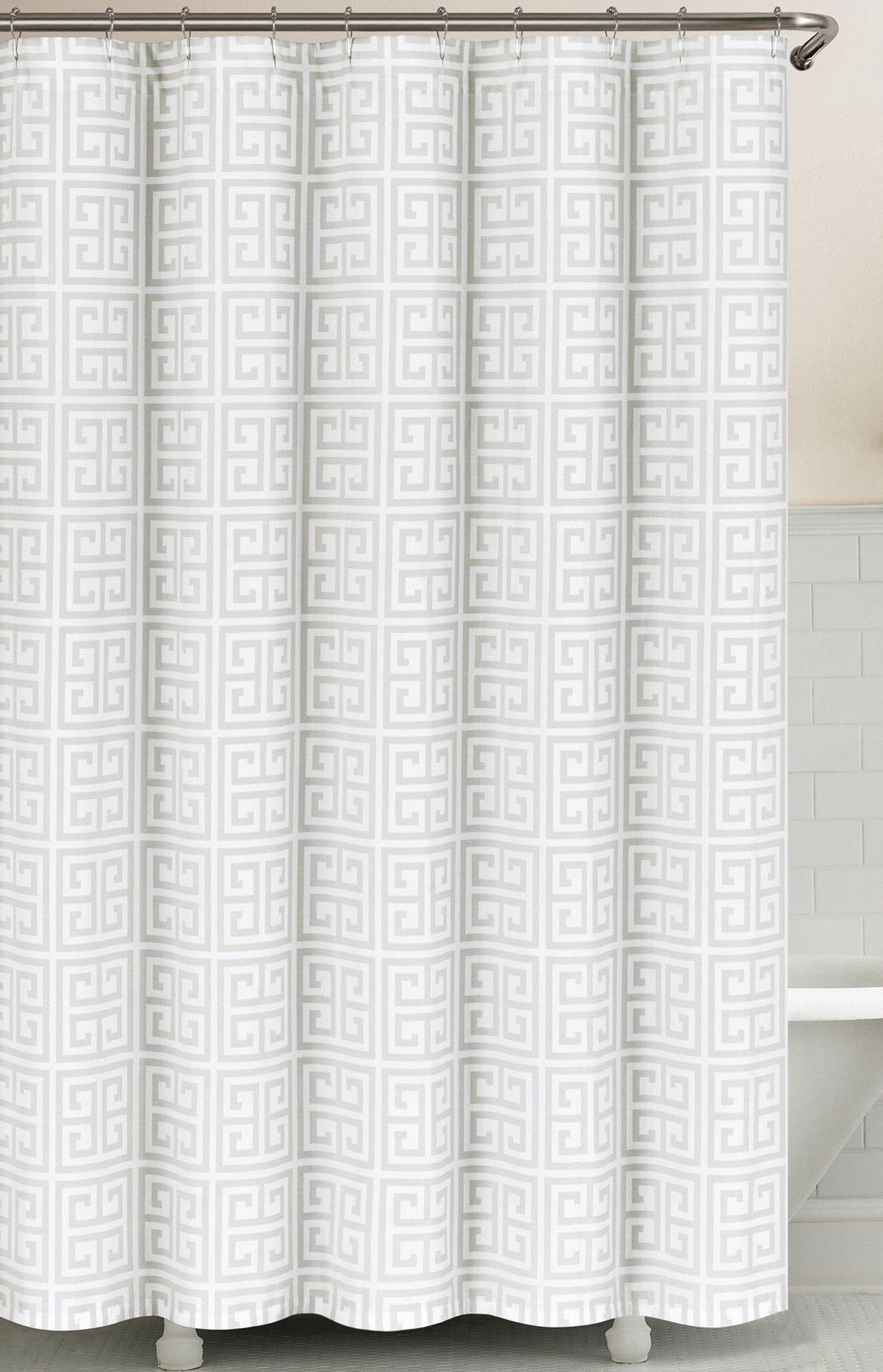 Greek Key Shower Curtain Curtains Shower Curtain Fabric Shower