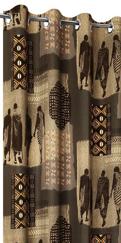achat de rideaux africains sur mesure