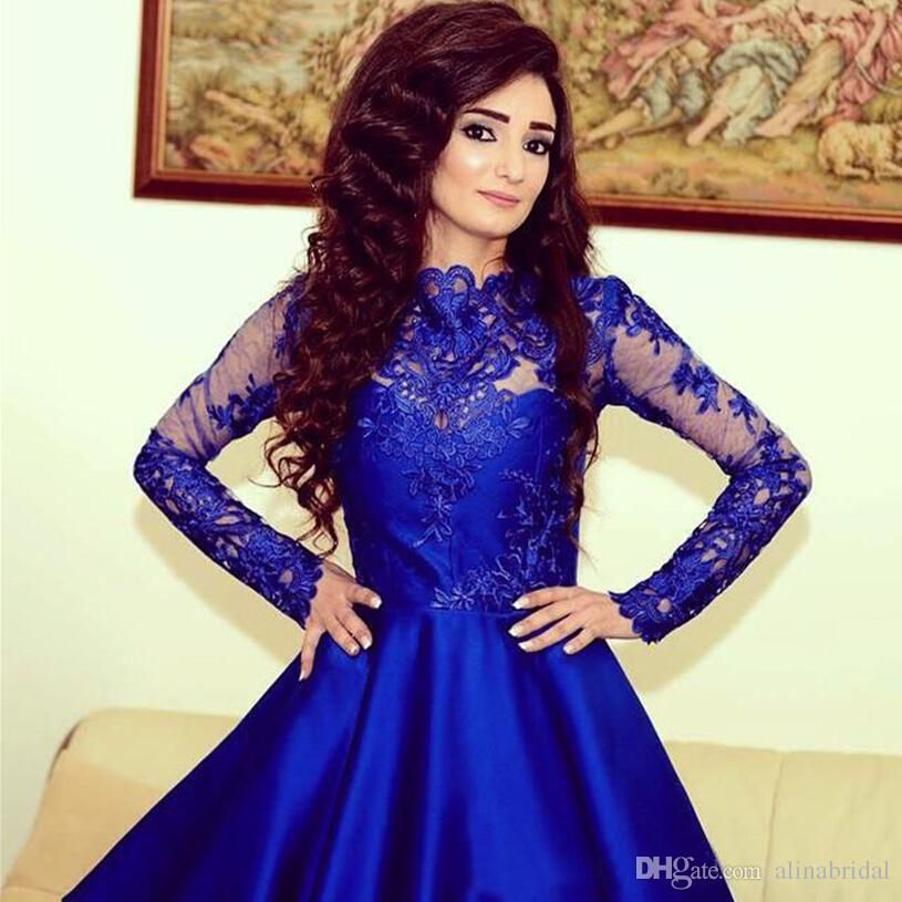 Blue Lace Cocktail Dress - GroovGames and Ideas | Adorable ...