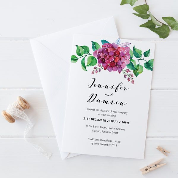 So Fresh This Sweet Pea Wedding Invitation Weddinginvitations Fldesign