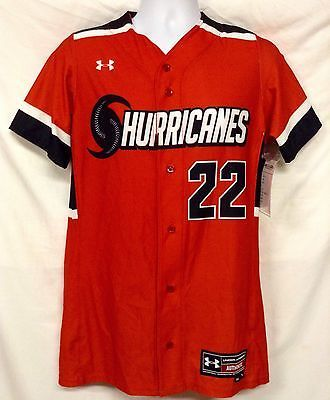 d6ff1392a26c Under Armour Hurricanes Womens Softball Jersey Armourfuse Fullbutton  Sublimated