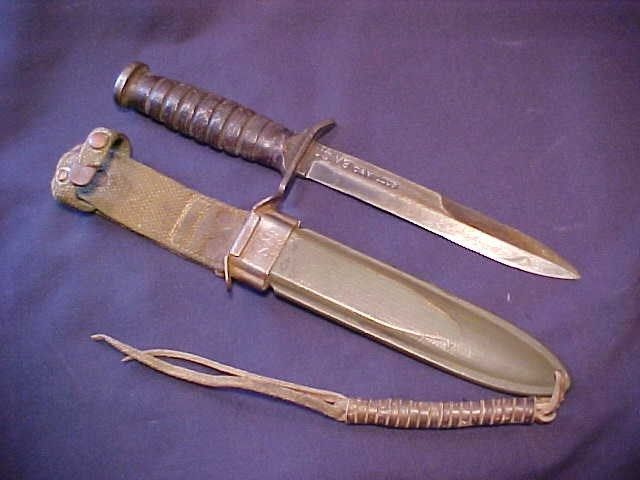 Wwii Us M3 Camillus Blade Mark Airborne Trench Knife