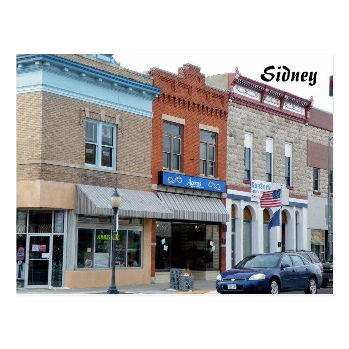 Historic downtown, Sidney, NE