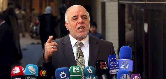 El İbadi: Teröristleri Asla Bağışlamayacağız