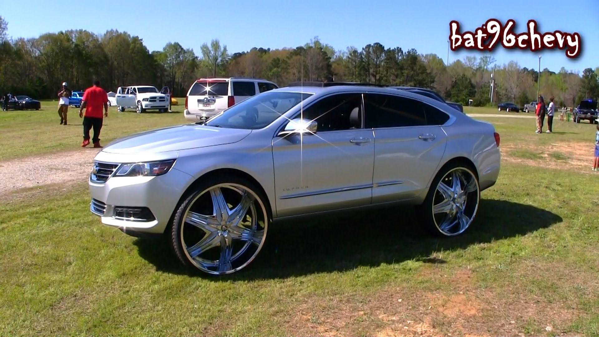 30 inch rims on impala 2015 chevrolet impala ltz on 30 diablo elite wheels
