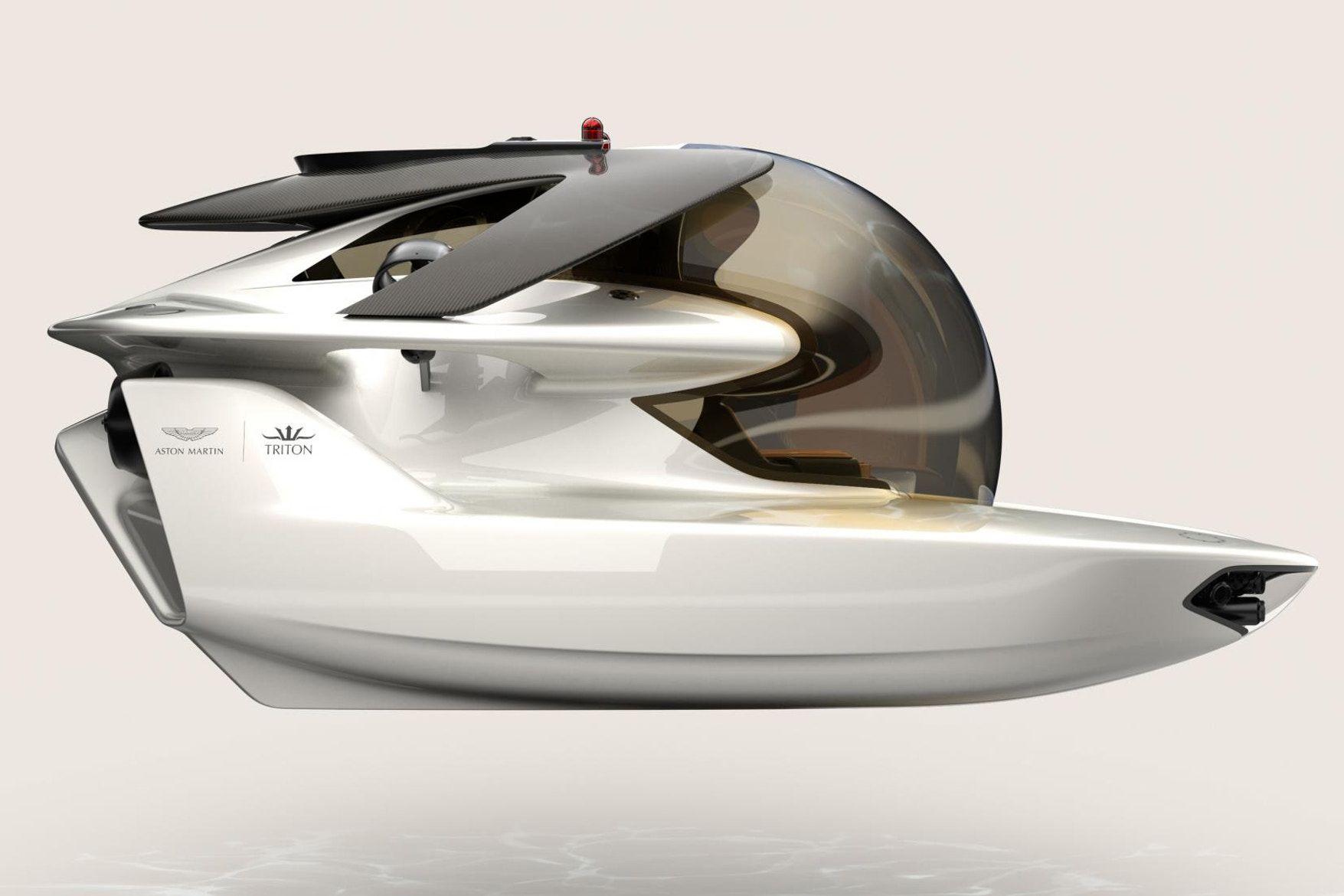 """A Closer Look At Aston Martin and Triton s """"Project Neptune"""" Mini"""