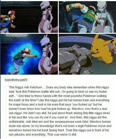 He un-backwardsed Ash's hat. #Pokémon
