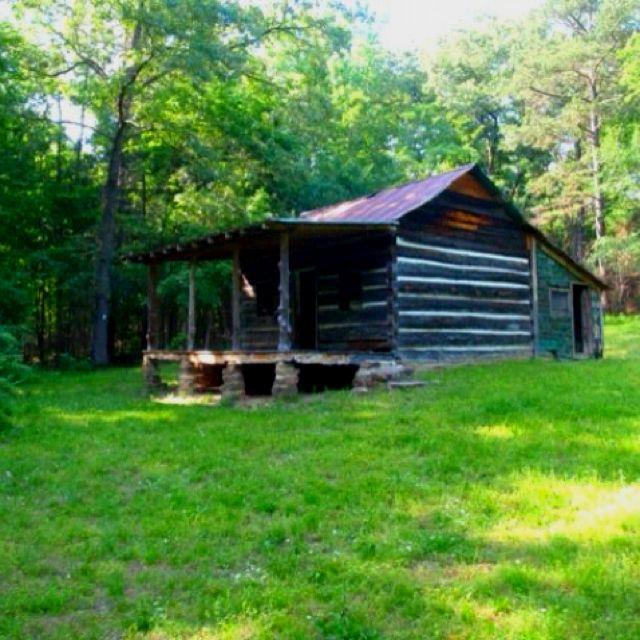 The Old Cabin At Mill Creek. Near Jasper, Arkansas.