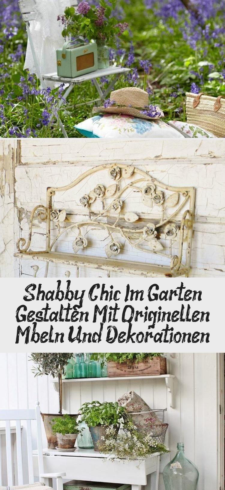 Garten Shabby Chic im Garten gestalten mit originellen Möbeln und ...