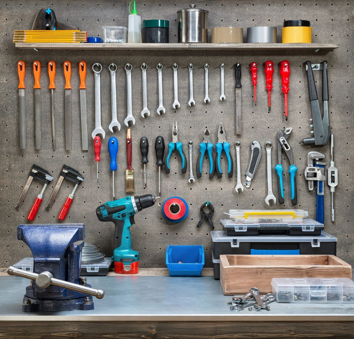 10 Must Have Items For Your Dream Workshop Garage Makeover
