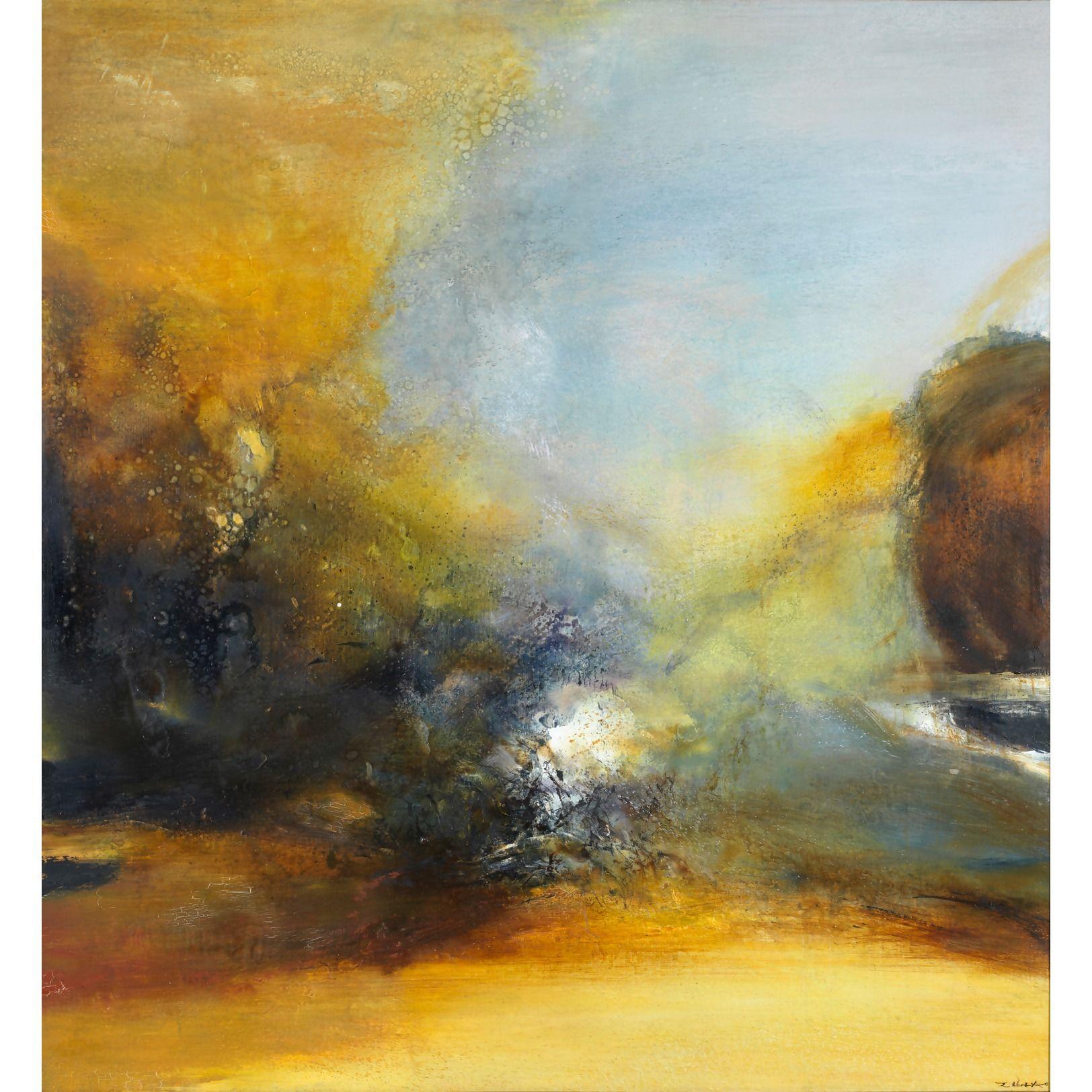 Zao Wou Ki Abstract Art Landscape Abstract Art Painting Art