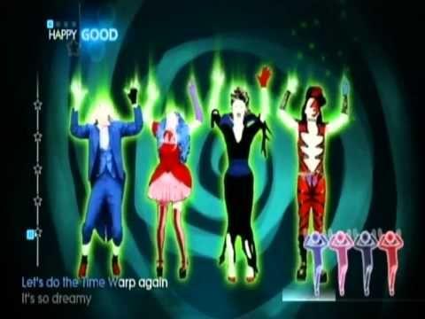 just dance 4 34 halloween thrills time warp youtube