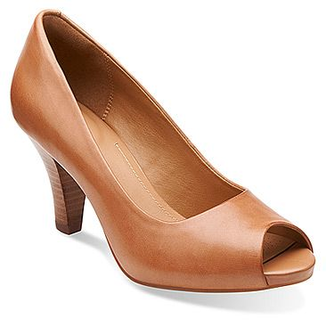 Womens Shoes Clarks Florine Portia Beige Leather