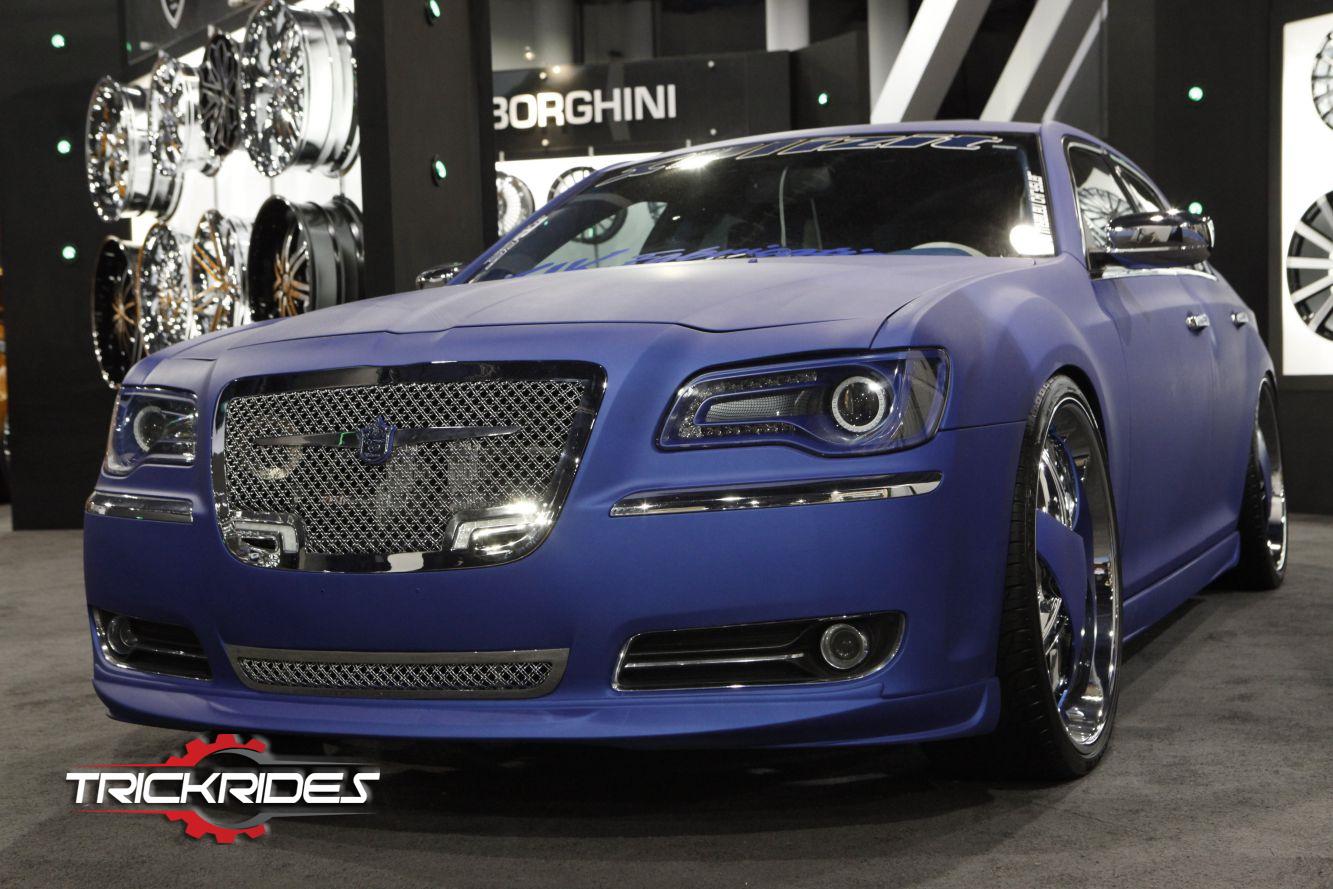 Chrysler 300 at SEMA trickrides sema customcarshow