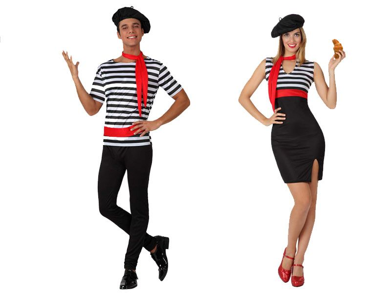 Pareja disfraces de franceses parejas disfraces - Difraces para carnaval ...
