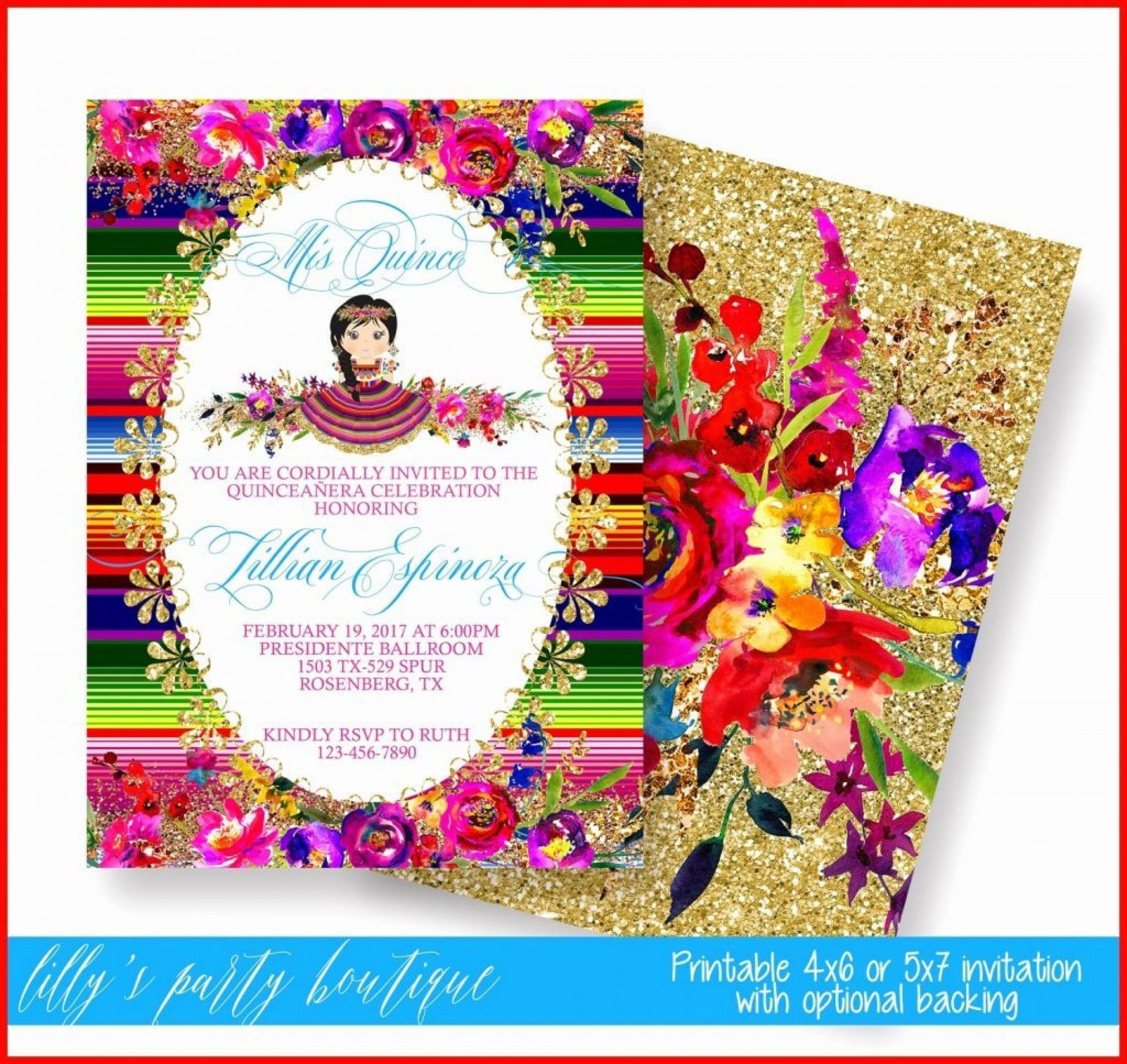 Mexican Party Invite Template Best Of 027 Template Ideas Fiesta Invitations Templates Free M In 2020 Mexican Invitations Mexican Party Invitation Party Invite Template