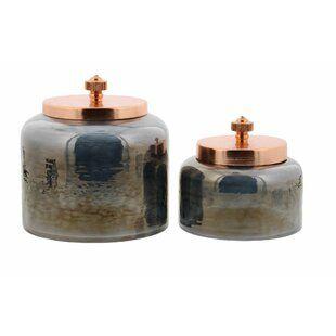 Harpersville 3 Piece Storage Jar Set
