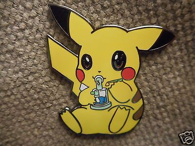 1 Smoking Pikachu Pin Free Shipping Heady Weed 420 Dab Grateful