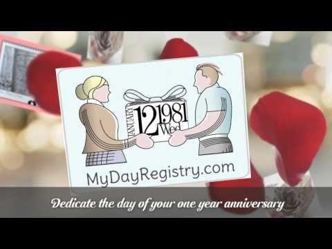 One Year Wedding Anniversary Gift Ideas For A Boyfriend | One Year ...