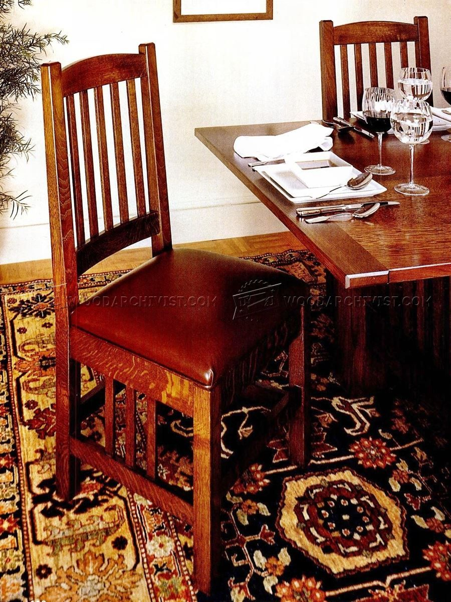 Dining Room Furniture Plans Dinning Chairs Mission