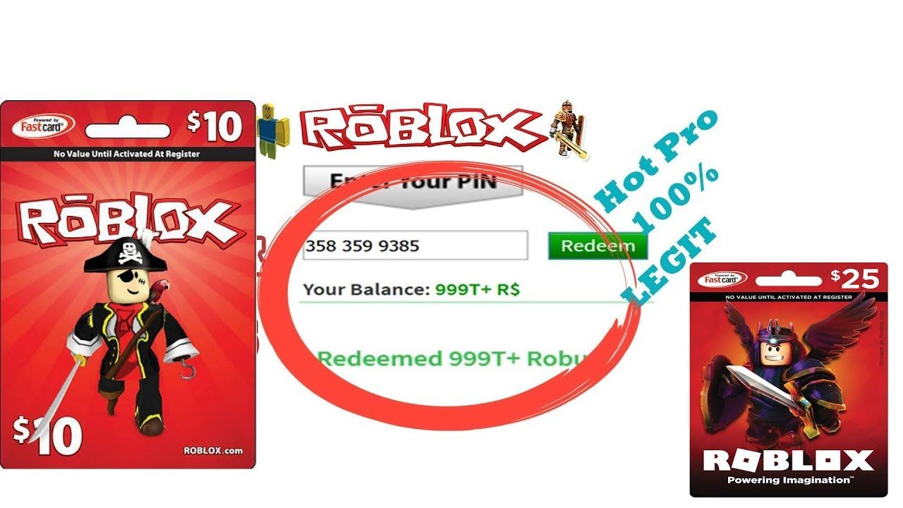 How to get free robux codes 2019 roblox card codes