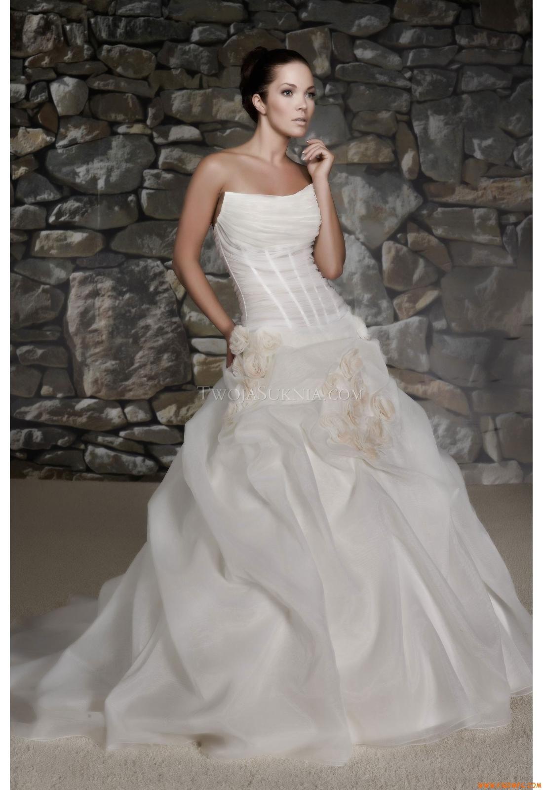 Vestidos de noiva Lisa Donetti 70153 2012