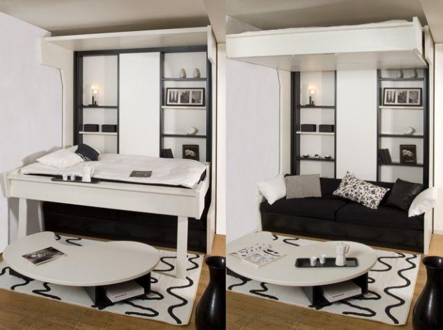 Studio avec plateau amovible espace loggia home for Plateau escamotable cuisine