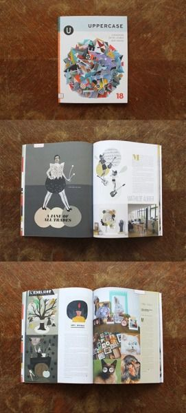 On est dans Uppercase Magazine avec une interview sur Mathilde ! We are on Uppercase Magazine with an interview on Mathilde !