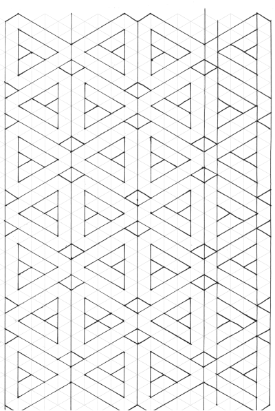 Designing Geometrical Quilts  Graph Paper Paper Piecing Patterns