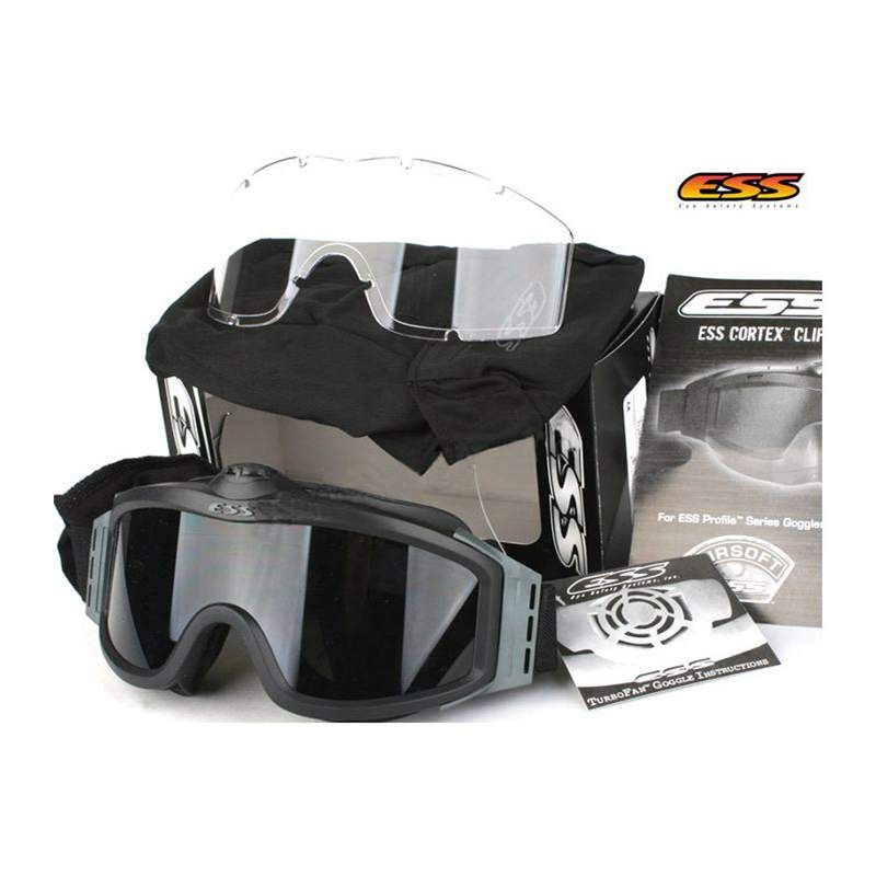 ef6c97fbe7d High Quality ESS Goggles Sunglasses Outdoor Sports Army Bullet-proof Fan  Anti-Fog Eyewear Military Goggles Wholesale