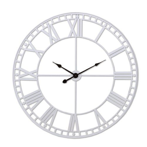August Grove Oversized 120cm Analogue Wall Clock Gear Wall Clock