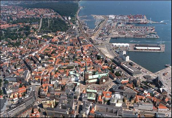 århus From Above Denmark Hingað Hef èg Komið Denmark Aarhus