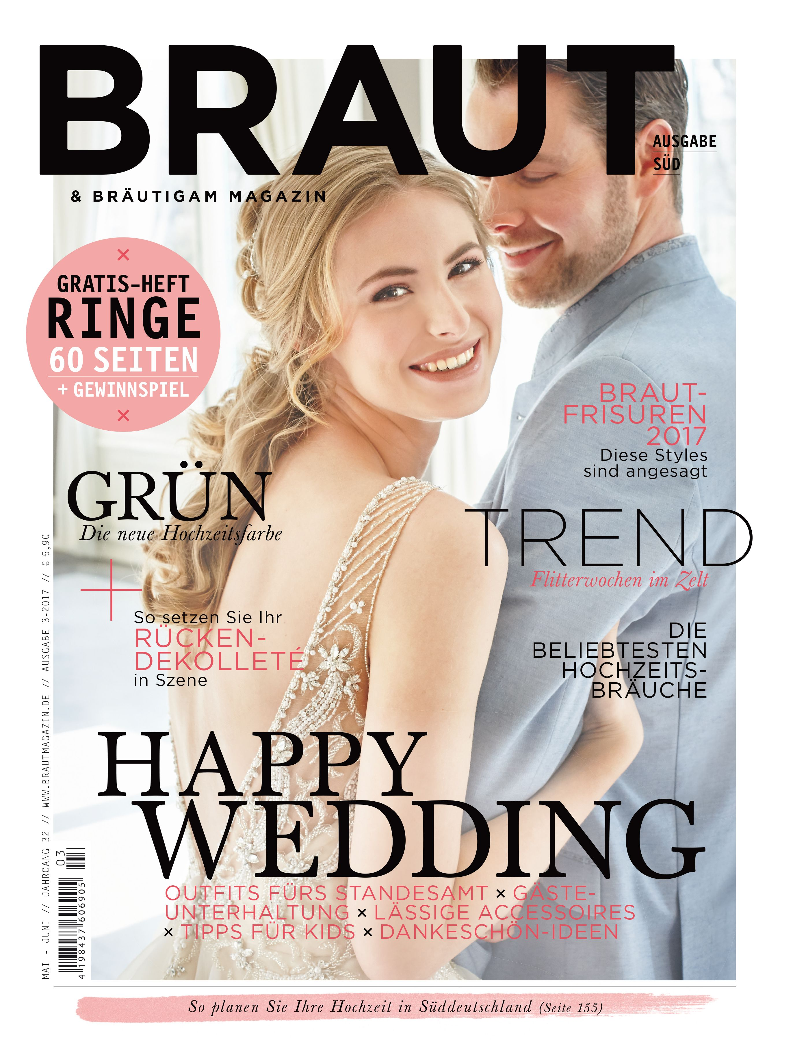 Braut & Bräutigam Magazin – Ausgabe 3-2017 #Brautmagazin ...