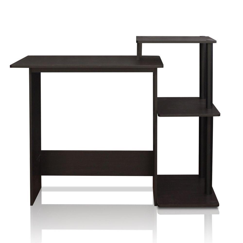 Computer desk modern furniture ergonomic small spaces office home