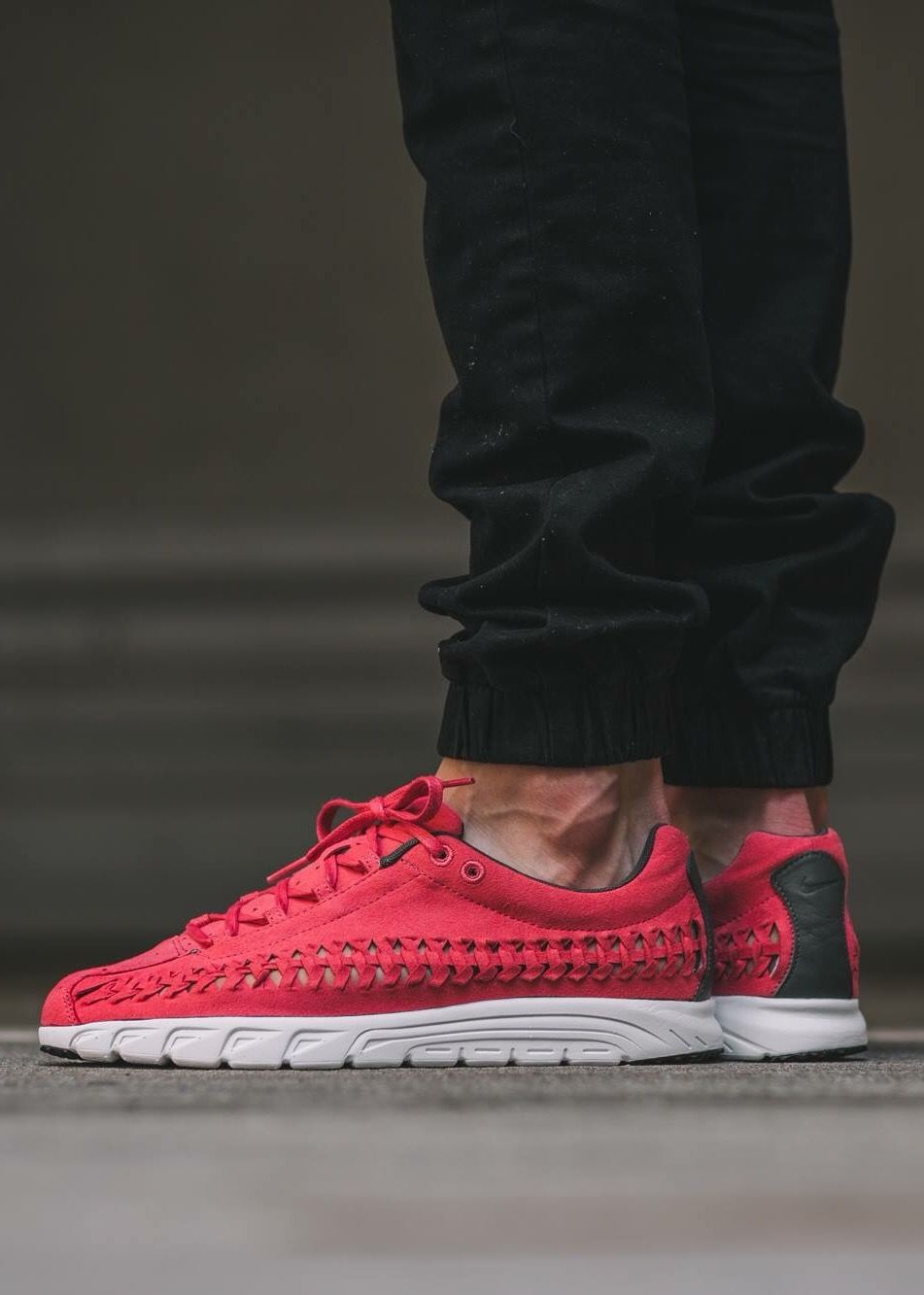 0bf2cae523d2 Nike Mayfly Woven  Red