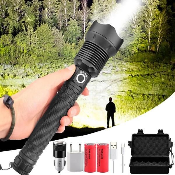 90,000 Lumen Tactical Zoom Flashlight #thegreatoutdoors