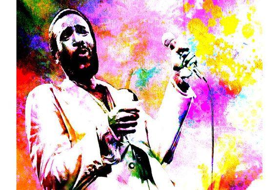 Marvin Gaye Motown Motown Art Music Pop Art 60s Music Singer Songwriter Motown Wall Art Marvin Gaye Art Grapevine Soul Music Art Art Prints Pop Art