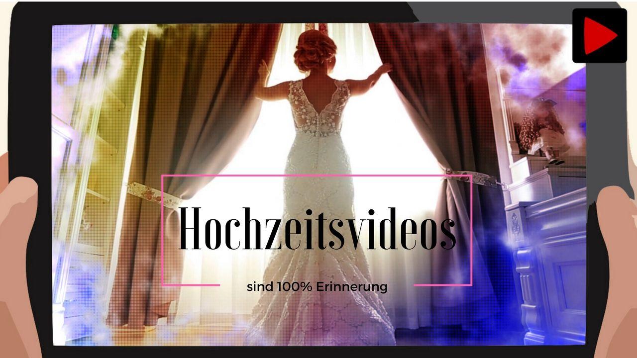 Hochzeitsvideos sind 100% Erinnerung